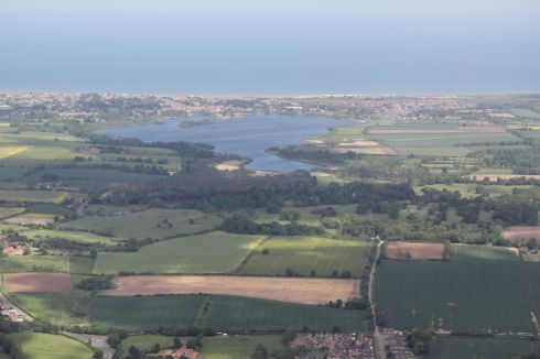 the Mere and Wassand with Sigglesthorne in the foreground